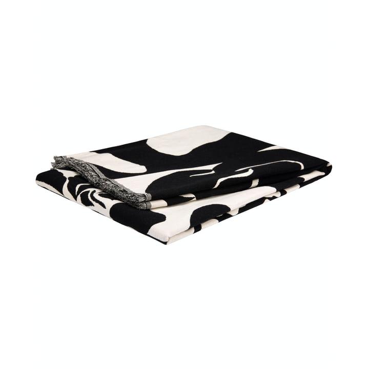 La couverture Ruudut de Marimekko avec des franges