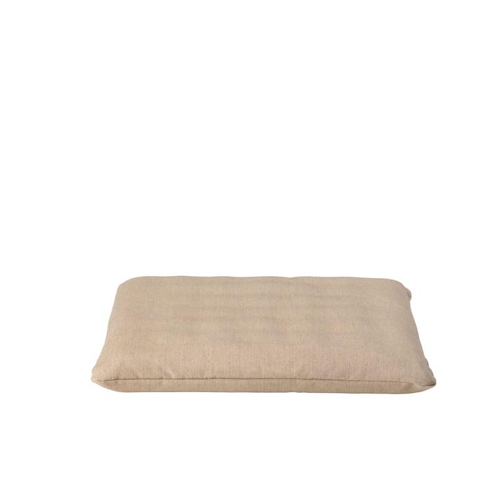 Le coussin pour Gerda de Broste Copenhagen en beige, 44 x 42 cm