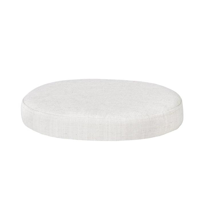 Le support de la table latérale Ninna de Broste Copenhagen en crémweiss, Ø 34 cm