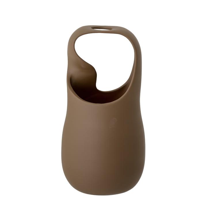 Le vase Nikita de Bloomingville en brun, h 28 cm