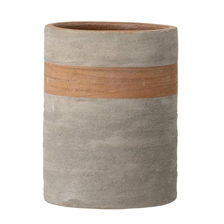 Le pot de fleurs Keem de Bloomingville , Ø 15,5 cm, terre cuite