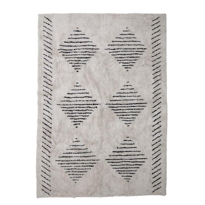Le tapis Jegor de Bloomingville , 200 x 140 cm, nature