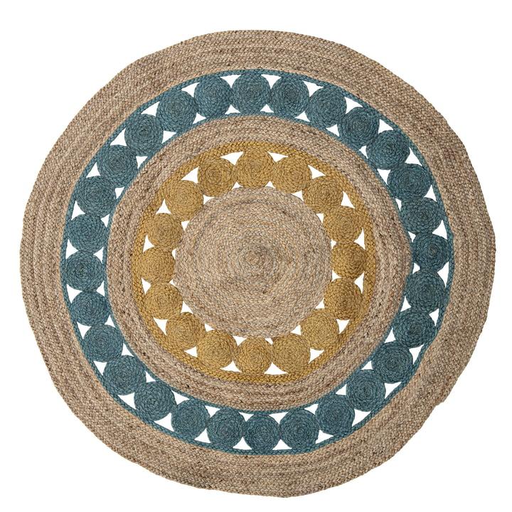 Le tapis Marlin de Bloomingville , Ø 119 cm, coloré