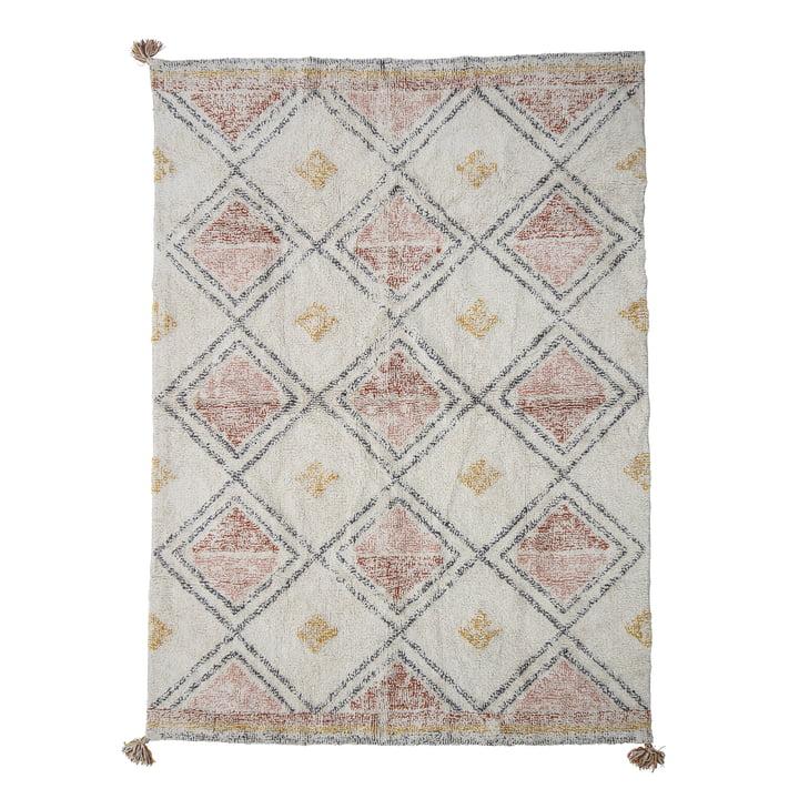 Le tapis Inka de Bloomingville , 200 x 140 cm, coloré