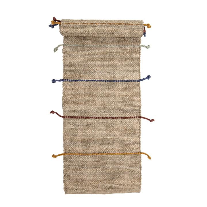 Le tapis Claas de Bloomingville , 200 x 50 cm, jute naturelle