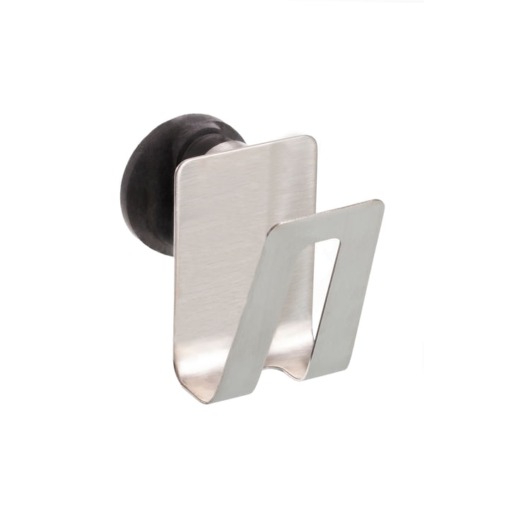 Le porte-éponge magnétique de Happy Sinks par Magisso en acier inoxydable