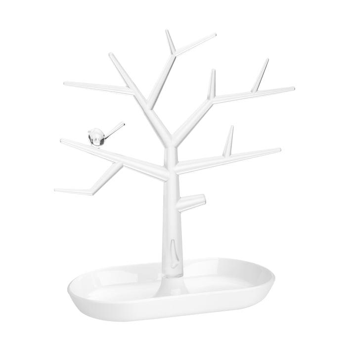 L'arbre d'ornement [pi : p ] M de Koziol , crystal clear / cotton white