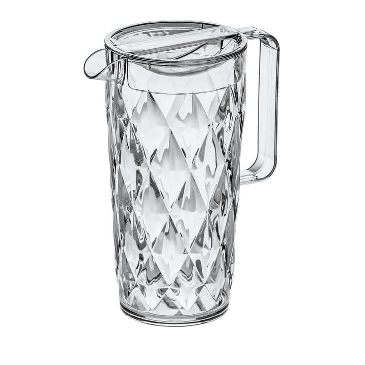 La cruche CRYSTAL 1. 6 l de Koziol , crystal clear