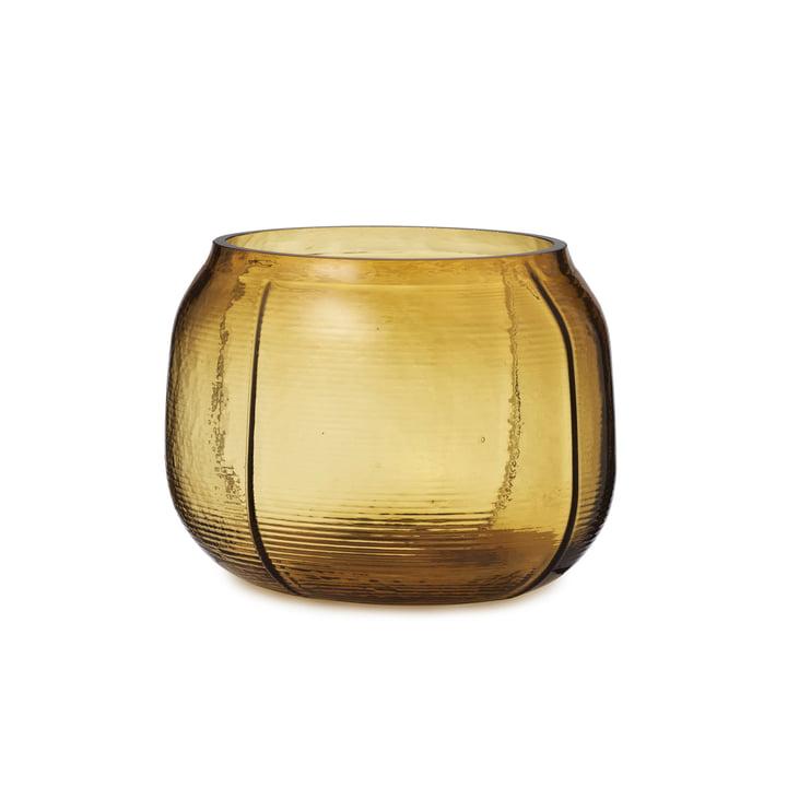 Le vase Step de Normann Copenhagen , H 16 cm, marron