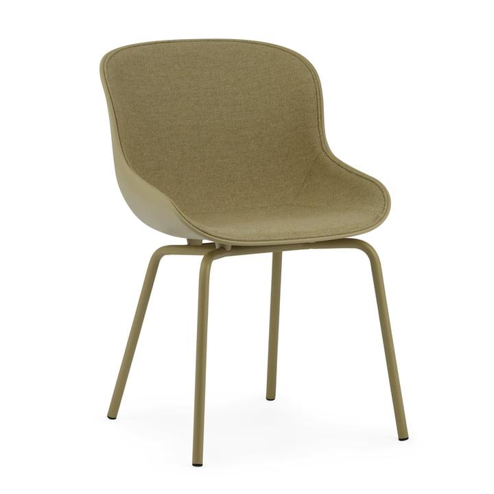Le pad frontal Hyg Chair de Normann Copenhagen en olive / Main Line Flax