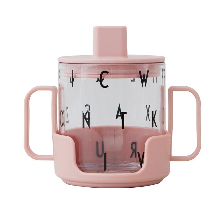 Le Grow with your Glass Starter a mis les enfants qui boivent du verre de Design Letters dans nude (3pcs.)