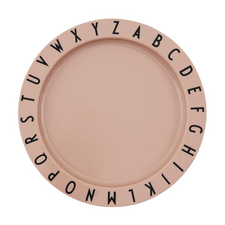 Le Eat & Learn Plaque Tritan de Design Letters en nude