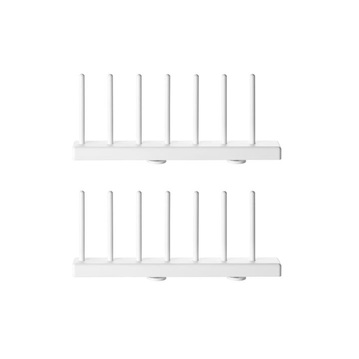 Porte-assiettes, 20 cm blanc (lot de 2) par String