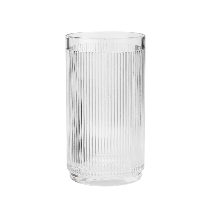 Le refroidisseur de vin Pilastro de Stelton , transparent