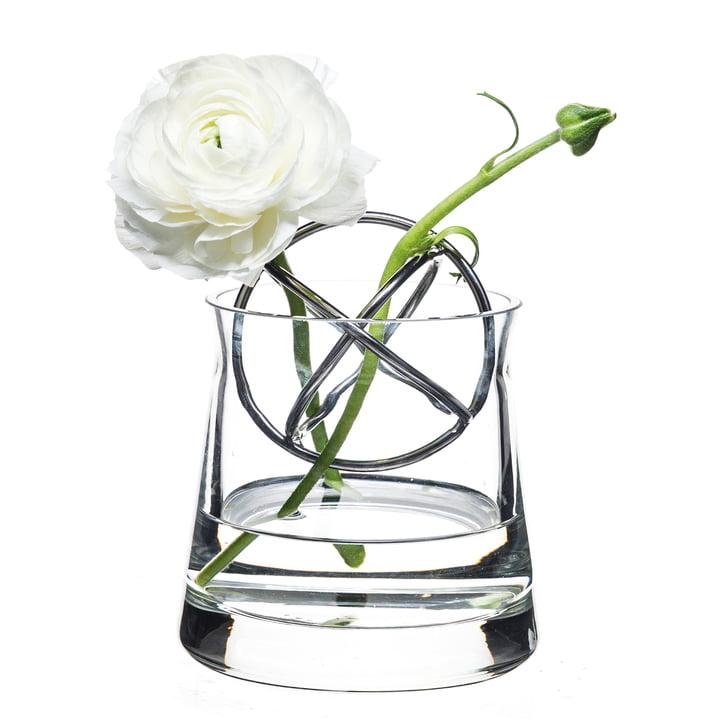 Sphere Vase Petit, en acier inoxydable de Born in Sweden