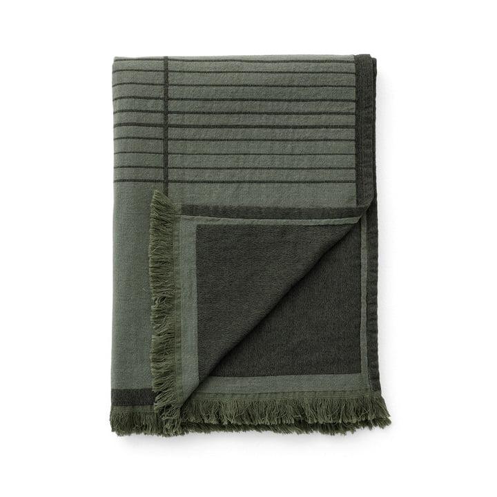 Le couvre-lit Untitled AP10 de & Tradition, 150 x 210 cm, dark green