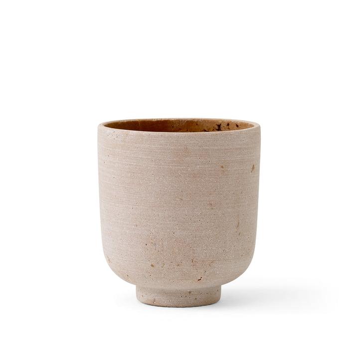 Le Collect SC69 Pot de fleurs S de & Tradition, Ø 12 cm, ochre