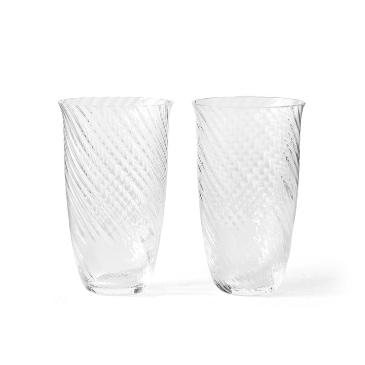 Le verre à boire Collect SC60 de & Tradition, 165 ml, transparent (lot de 2)