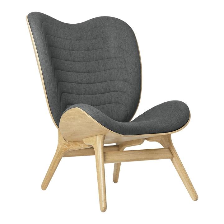 Le fauteuil A Conversation Piece Tall de Umage , chêne / slate grey ( kingston )