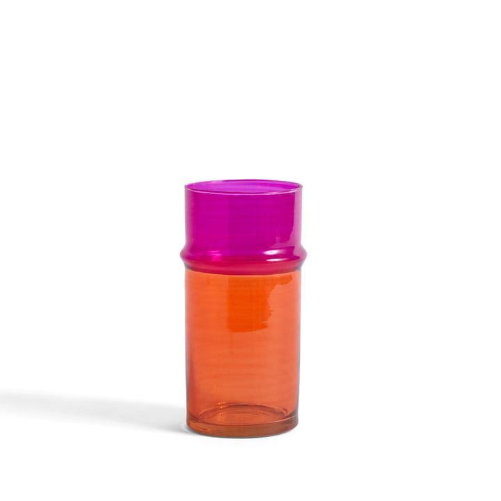 Le vase marocain S de Hay , orange / rose