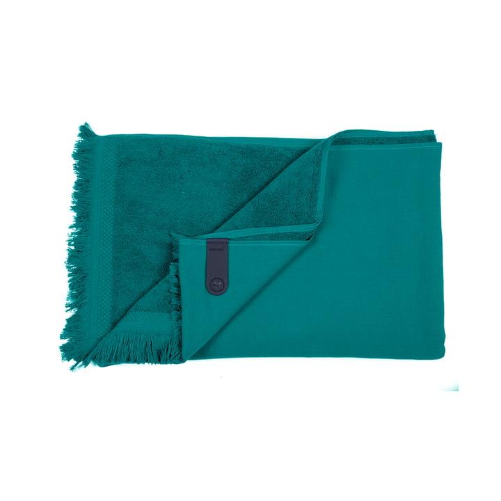 La serviette Fouta de Fermob, 100 x 200 cm, vert jade