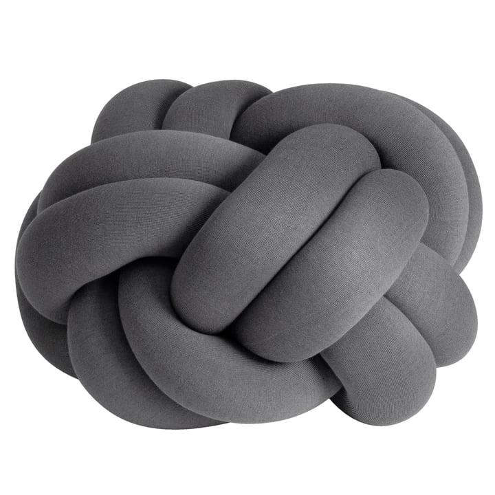 Knot Coussin XL de Design House Stockholm en gris