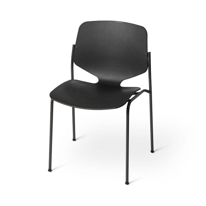 Nova Sea Chaise, noire de Mater