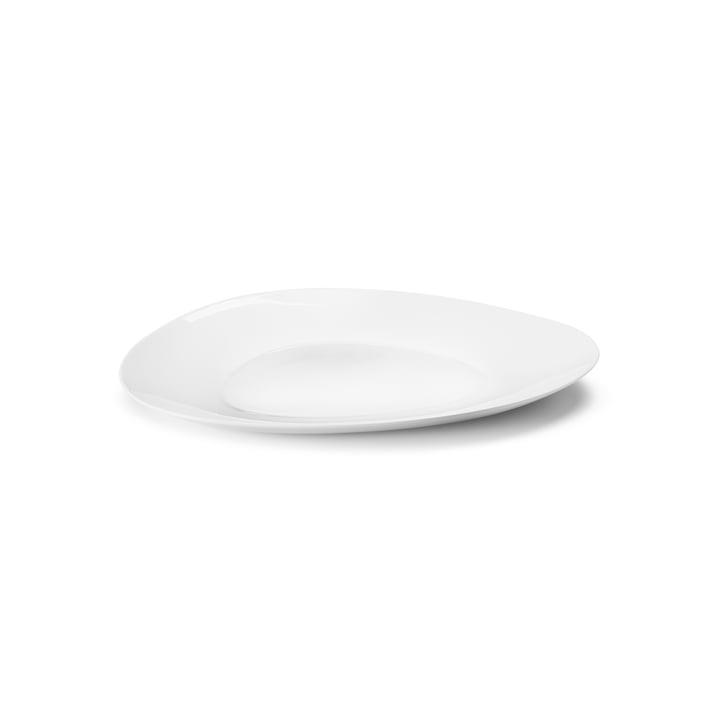 Sky Assiette de service Ø 40 cm de Georg Jensen en blanc