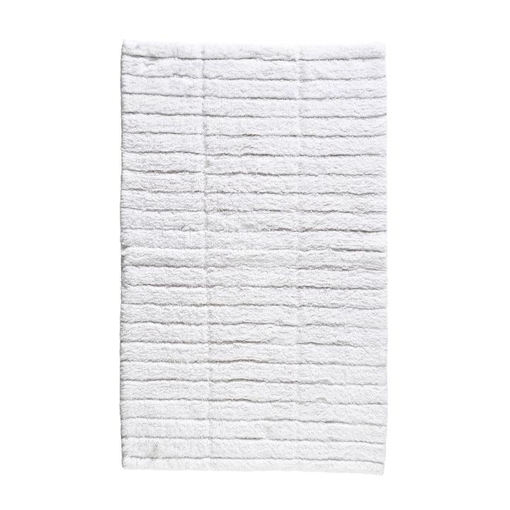Le tapis de bain Soft Tiles de Zone Denmark , 50 x 80 cm, blanc
