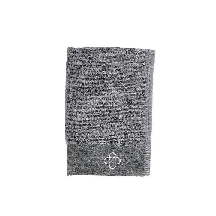 La serviette pour invités Inu Spa de Zone Denmark , 40 x 60 cm, gris
