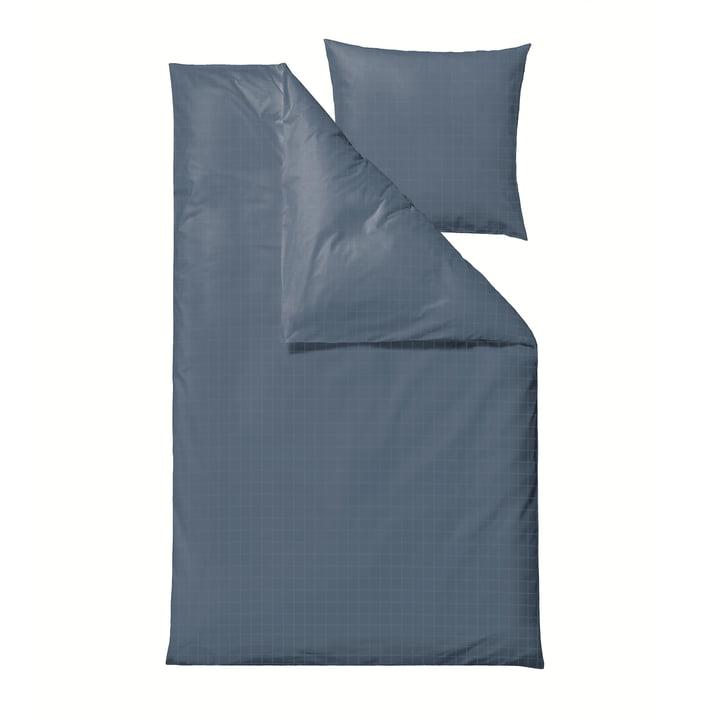 Le linge de lit Clear Damask de Södahl , 135 x 200 cm, china blue