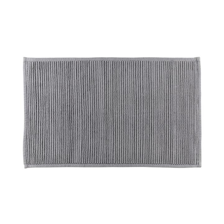 Le tapis de bain Plissé de Södahl , 50 x 80 cm, gris