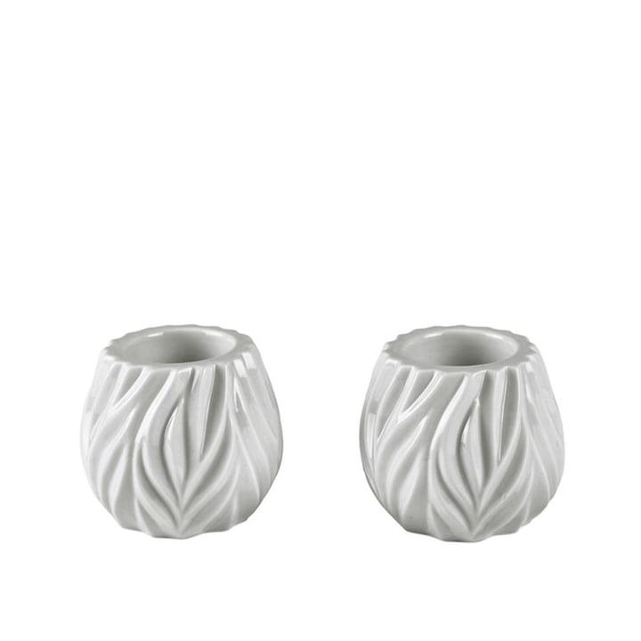 Flame Porte-bougies de Morsø en blanc (lot de 2)