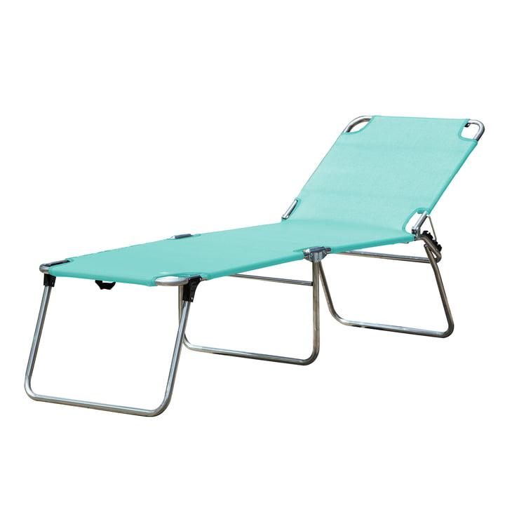 La chaise longue Amigo 40 + tripode de Fiam , aqua
