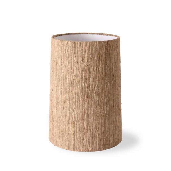 L'abat-jour de la lampe de table en soie de HKLiving, Ø 38 cm, brun