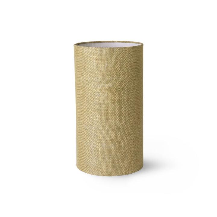 HKLiving - Abat-jour pour lampe de table, jute, Ø 22 cm, vert jade