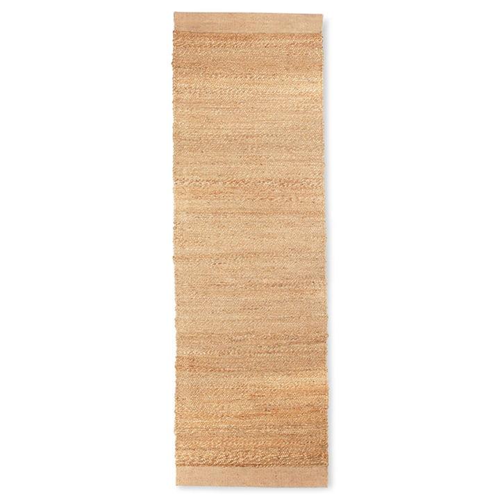 Le tapis de chanvre de HKliving , 60 x 200 cm naturel