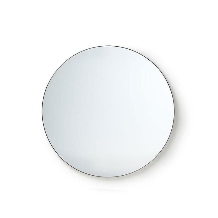 Le miroir rond de HKliving , Ø 80 cm, noir
