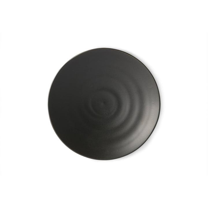 L'assiette à dessert Kyoto de HKliving , Ø 16 cm, noir mat