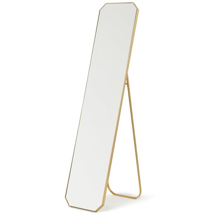 Le miroir sur pied en laiton de HKliving , 42 x 175 cm