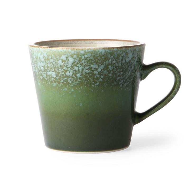 La tasse à cappuccino 70's de HKliving , herbe