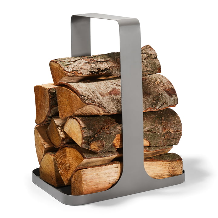 Log Rangement du bois de chauffage de Philippi en gris
