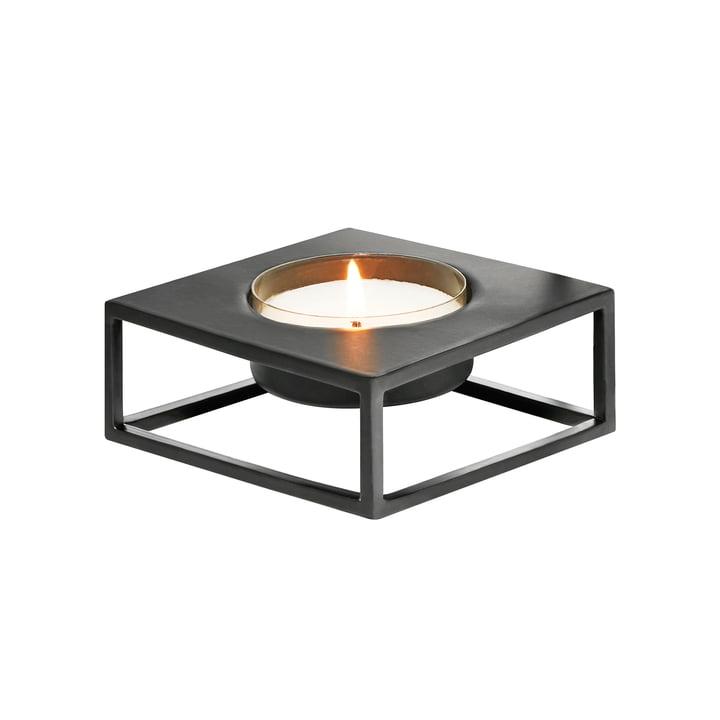 Solero Porte-bougie S pour Maxi -bougies à réchaud de Philippi en noir
