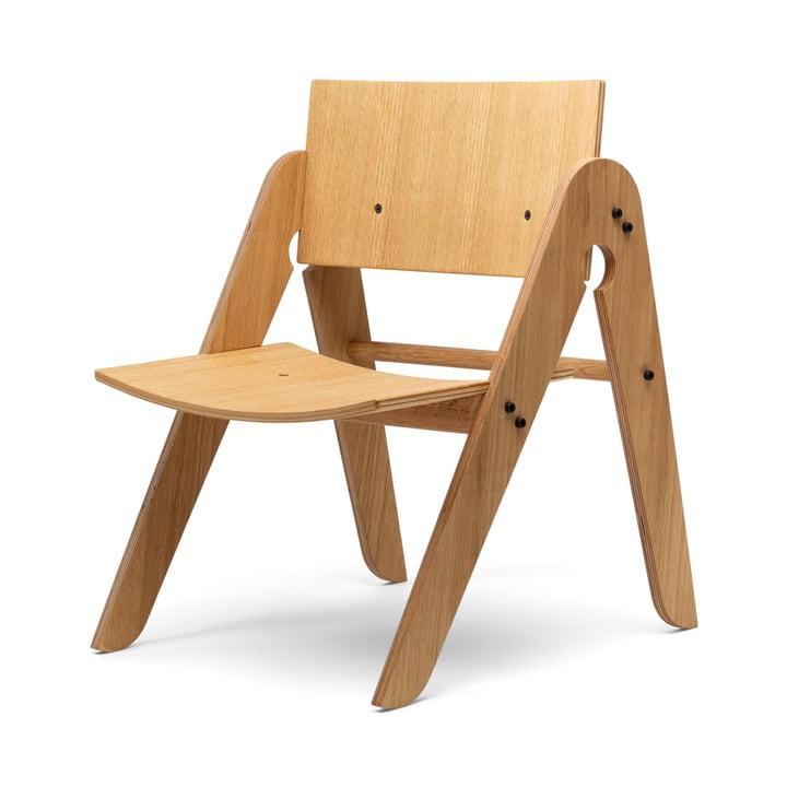 Lilly's Chair de We Do Wood en chêne naturel