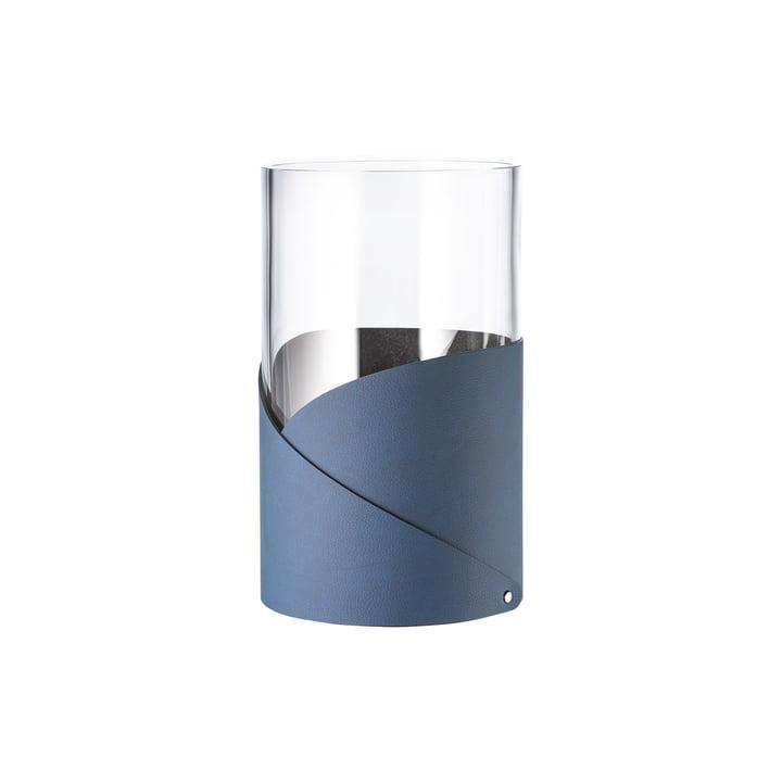 Fold Vase S Ø 7. 5 cm de LindDNA en Nupo midnight blue / verre