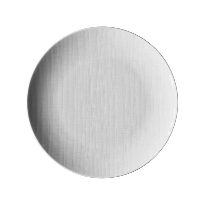 L'assiette Mesh de Rosenthal , Ø 21 cm plat, blanc