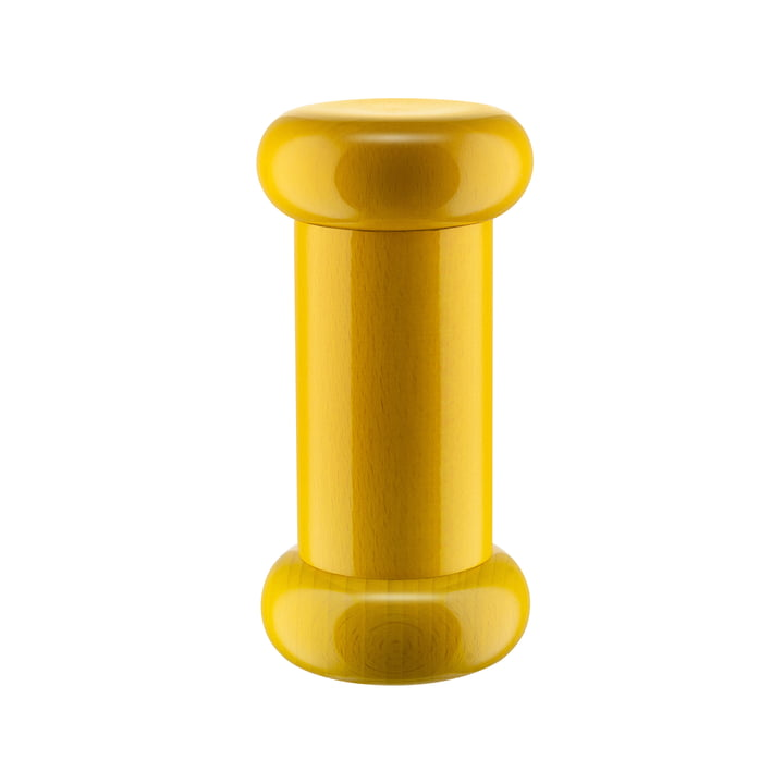Twergi Moulin à sel/poivre et épices ES19 de Alessi en jaune vif