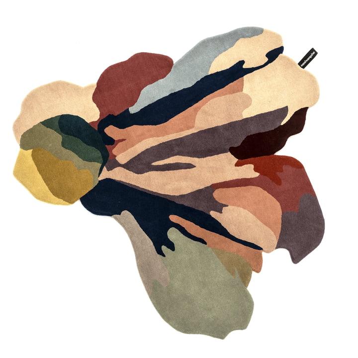 Flora Bloom Tapis 1, 150 x 166 cm de nanimarquina en couleur