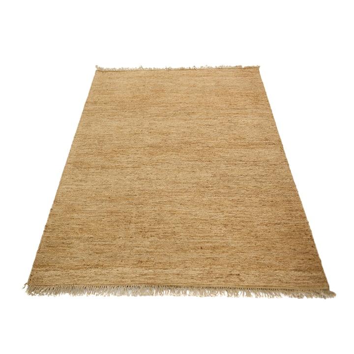 Le tapis Sumace avec des franges de Massimo , 170 x 240 cm, nature