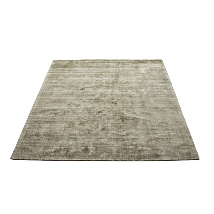 Le tapis Karma de Massimo , 160 x 230 cm, vert olive